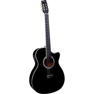 [Walmart] Violão com Afinador Digital Nylon Di Giorgio Wings Black 6 Cordas por R$ 379