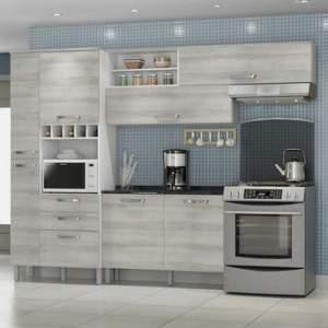 [Walmart] Cozinha Completa Nesher Diva Premium Branco e Pérola por R$ 649
