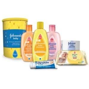 [Walmart] Kit Presente para Chá de Bebê 6 Produtos Johnson's Baby por R$60