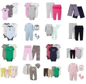 [Walmart] Kits de bodies e roupas para bebês a partir R$30