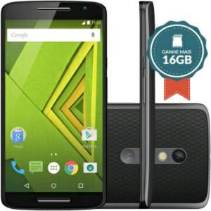 [Guri Veio] Smartphone Moto X Play Dual 16GB XT1563 + MicroSD 16GB por R$1350