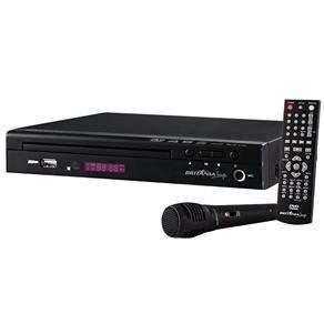[Casas Bahia] DVD Player Karaokê Britânia Fama 6P c/ Entrada USB, Ripping e 1 Microfone R$87