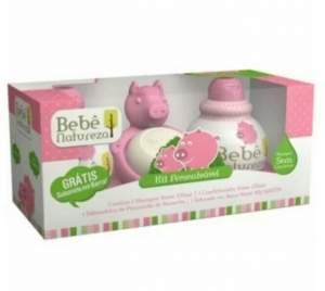 [PANVEL] - Kit Bebe Natureza Porquinha Saboneteira + Shampoo + Condicionador 230ml Gratis Sabonete 80g - R$20