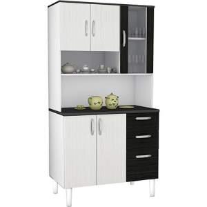 [SUBMARINO] Armário de Cozinha Bechara Rio 6 Portas 2 Gavetas R$260