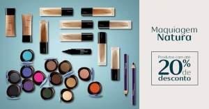 [Natura] Maquiagem Natura com 20% de desconto
