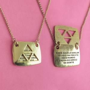 [Luan Santana Shop] Colar Ouro R$39,90