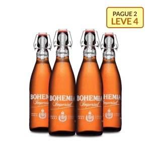 [Empório da Cerveja] Kit Bohemia Imperial 550ML - Na Compra de 2, Leve 4 - por R$27