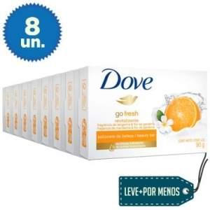 [Insinuante] Leve Mais Pague Menos: 8 Sabonetes em Barra Dove Tangerina 90g - R$12