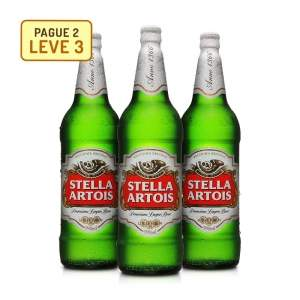 [Empório da Cerveja] Cerveja Stella Artois 990 Ml - Na Compra de 2, Leve 3 - por R$28