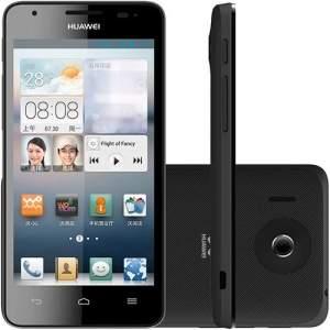 [SouBarato] Smartphone Huawei Ascend G506 Dual Chip Desbloqueado Preto Android 4.1 3G/Wi Fi Câmera 5MP 4GB