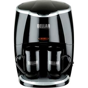 [Americanas] Cafeteira Elétrica Dellar DCM 023 Premium 2 Xícaras Preto - R$9