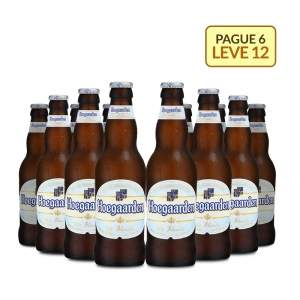 [Empório da Cerveja] Kit Hoegaarden White 330ML - Na Compra de 6, Leve 12 Garrafas por R$ 59