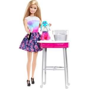 [SUBMARINO] Barbie Family Cão Banho de Cores - Mattel - R$40
