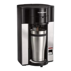 [Clube do Ricardo] Cafeteira Expresso Personal Cup com Desligamento Automático - Hamilton Beach - por R$90