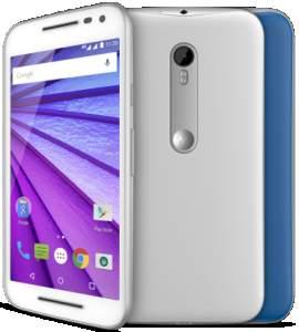 """[Saraiva] Smartphone Motorola Moto G 3ª Geração Branco Colors 4G Tela 5"""" Android 5 Câmera 13Mp Dualchip 16Gb por R$ 809"""