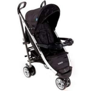 [BEBE STORE] Carrinho de Bebê Umbrella Deluxe Preto  3 Rodas