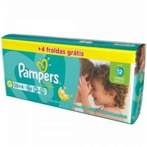 [Panvel] Fralda pampers G 42 unidades por R$36,00