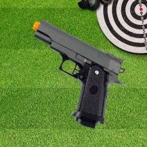 [Clube do RICARDO] Pistola Airsoft Calibre 6,0 mm G10 Spring Full Metal - Galaxy por 140