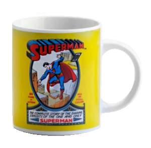 [Loja Mundo Geek] CANECA PERSONALIZADA SUPERMAN DC COMICS por R$16