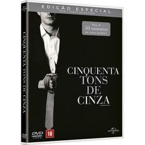 [Americanas] DVD + Disco de Extras - Cinquenta Tons de Cinza: Edição Especial (2 Discos) - R$18