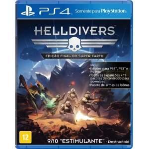 [Ponto Frio ] Jogo Helldivers: Edição Final do Super Earth - PS4 por R$40