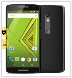 "[Saraiva]  Smartphone Motorola Moto X Play Preto 4G Tela 5.5"" Android 5 Câmera 21Mp Dualchip 16Gb por R$ 1259"