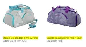 [SUBMARINO] Sacola de academia Moovi Gym - R$ 59,90
