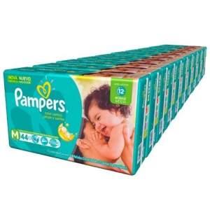 [Kangoolu - Pampers Day] Fralda Pampers Total Confort Mega M(440uni) ou G(380) - por R$288