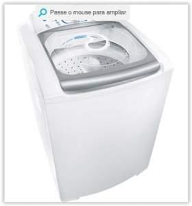 [Voltou- Submarino] Lavadora de Roupas Electrolux 15kg Blue Touch Ultra Clean LBU15 Branco por R$ 1111