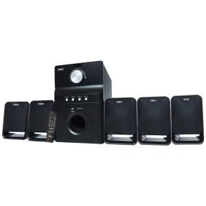 [Casa & Video] Home Theater com Entrada USB e SD, 5.1 Canais e 42WRMS TRC 5198 por R$ 130