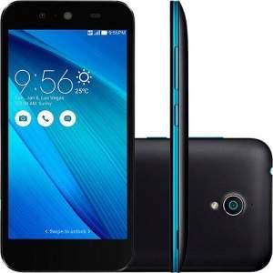 """[AMERICANAS] Smartphone Asus Live Dual Chip Desbloqueado Android 5 Tela 5"""" 16GB 3G 8MP e TV Digital - Preto - R$ 664"""