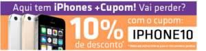 Descontonde 10% em iPhones no shoptime