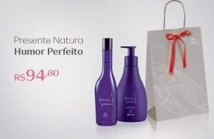 [Natura] kit Presente Humor Perfeito R$95
