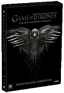 [SARAIVA] DVD Game Of Thrones - 4ª Temporada - 5 Discos - R$ 39,90