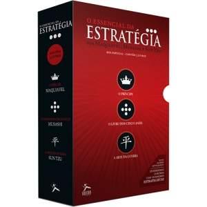 [Submarino] VOLTOU! Box de Livros - O Essencial da Estratégia (3 Volumes) - por R$9,90