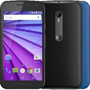 """[ShopTime] Motorola Moto G 3ª Geração Colors Dual Chip Desbloqueado Android 5.1 Tela HD 5"""" 16GB 4G Câmera 13MP Processador Quad Core 1.4GHz - Preto"""