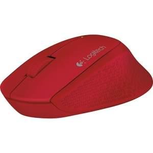 [Shoptime] Mouse Sem Fio Wireless M280 Nano Vermelho - Logitech por R$ 55