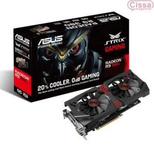 [Cissa Magazine] Placa de Vídeo ASUS Radeon R9 380 4GB STRIX-R9380-DC2OC-4GD5 por R$  1191