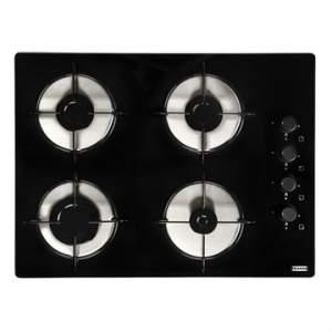 [EFACIL] Fogão Cooktop 4 Bocas Glass 60 Lateral Vidro Temperado Preto Bivolt - Franke por R$316