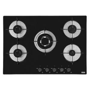 [EFACIL] Fogão Cooktop 5 Bocas Glass 70 Vidro Temperado Tripla Chama Preto Bivolt - Franke  POR R$399,27