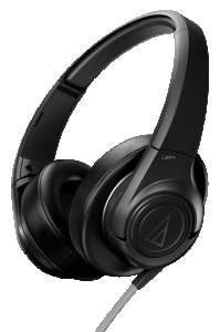 [SARAIVA] Fone de Ouvido Supra-Auricular Audio-Technica Ath-Ax3bk Preto - R$ 208,05