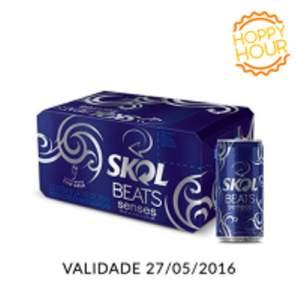 [EMPÓRIOdaCERVEJA] Compre 5 Caixas Skol Beats Senses 269ml Caixa com 8 unidades - R$100,00