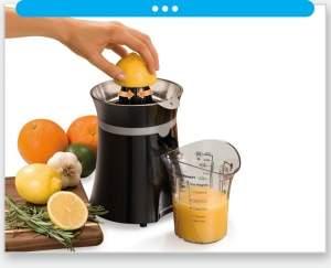 [Espremedor de frutas] Espremedor de Frutas Hamilton Beach Freshmix Preto e Prata 600ml - R$ 62