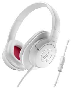 [SARAIVA] Fone de Ouvido Supra-Auricular Audio-Technica Ath-Ax1iswh Branco Com Microfone e Controle de Volume - R$ 141,55