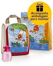 [Natura] Presente Natura Naturé Mocinhas - Colônia + Bolsa + Embalagem Desmontada - R$60