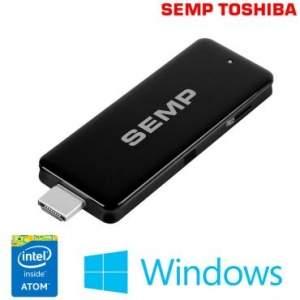 [RICARDOELETRO] Computador Stick PC Semp Toshiba com Intel® Atom-Z3735F Quad Core, 2GB de Memória, 16GB de HD FLASH Expansível até 64GB, HDMI e Windows 8.1 - R$ 521