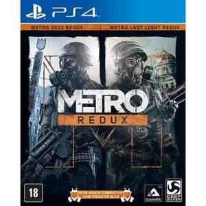 [Submarino] Metro Redux (PS4) - R$81
