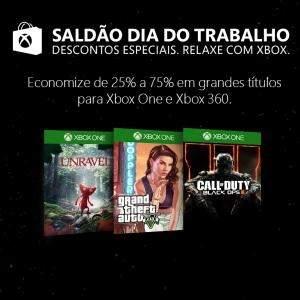 [XBOX] SALDÃO COM 25% A 75% PARA GAMES