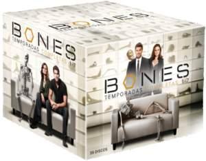 [Saraiva] DVD Box Bones - 1ª A 7ª Temporada - 39 Discos - por R$115