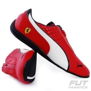 [FUT FANATICS] Tênis Puma Scuderia Ferrari Drift Cat 6 Zip 10- R$144